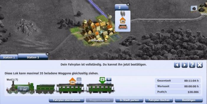 Eisenbahnspiel Online